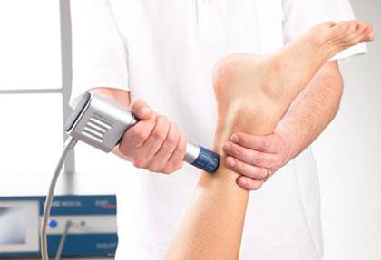 شاک ویو برای درمان پیچ خوردگی مچ پا