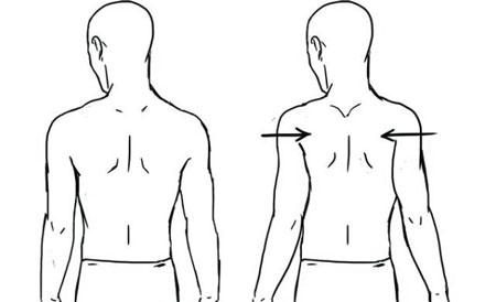 ورزش برای درمان قوس گردن