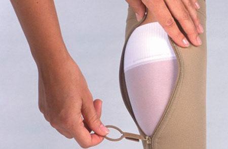 آستینهای الاستیک یا جوراب برای درمان لنف ادم