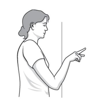 تمرین پیاده روی انگشتی