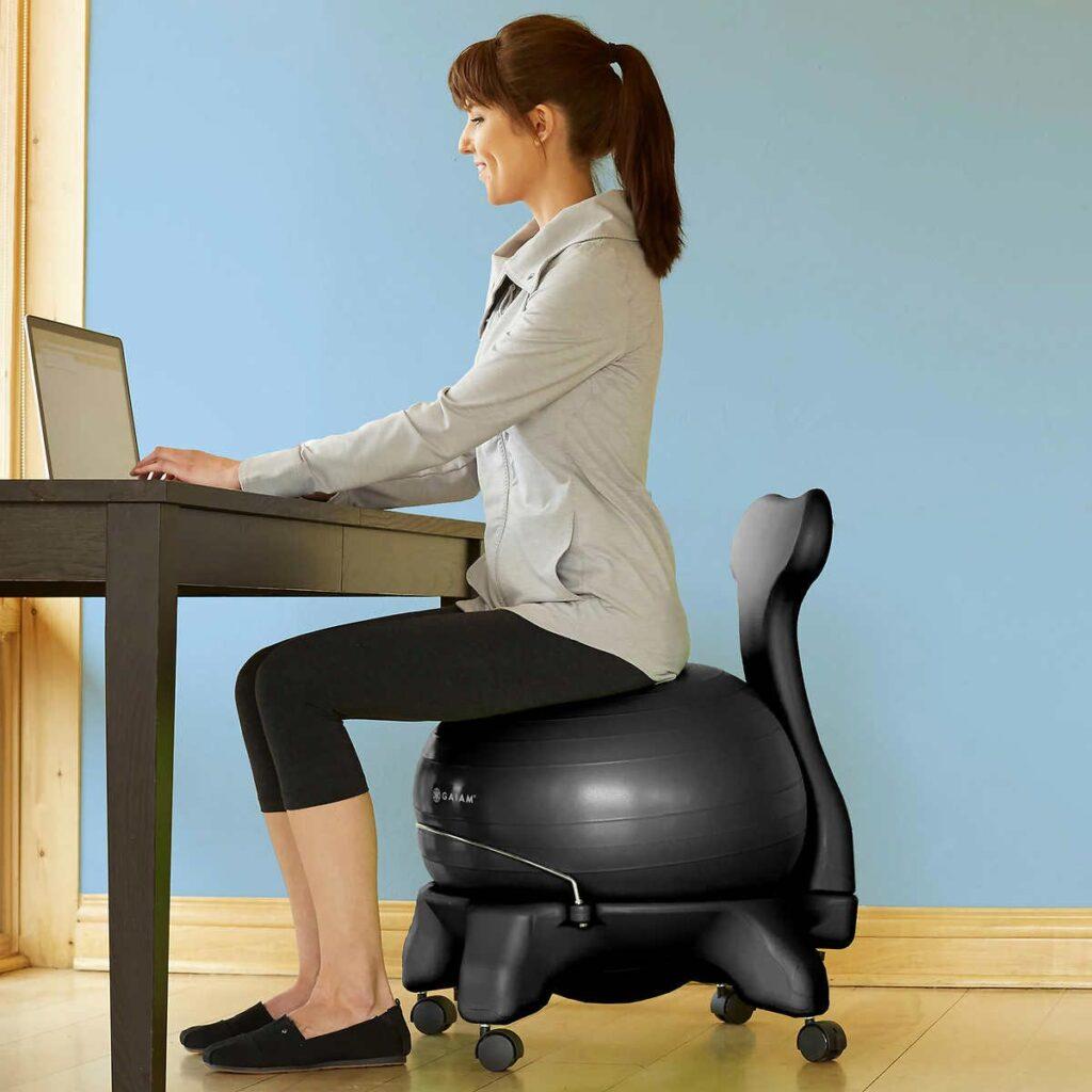 توپ و صندلی تعادلی ، تجهیزات فیزیوتراپی