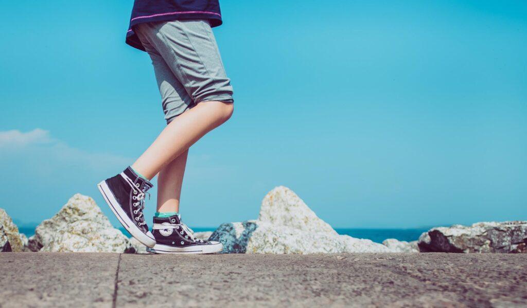 کاهش وزن، پیاده روی ، آب کردن شکم